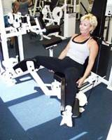 hip adduction machine