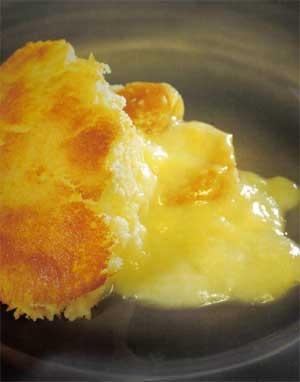 Budinca de cartofi cu anghinare