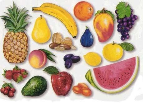 Fructele si legumele sunt baza